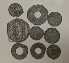 1659-1823 PALEMBANG SULTANATE Nine Coin Collection Lot (#L6581)