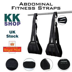 Hanging Abs Straps for Abdominal Muscle Building and Core Strength Training.