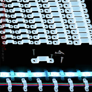 🔴 LED Band Leisten Halter 8-17mm Montage Halterung RGB Strip Licht Leiste Band