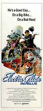 ELECTRA GLIDE IN BLUE Movie POSTER 14x36 Insert B Robert Blake Billy Green Bush