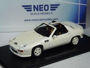 (KI-06-26) Neo Scale Models Porsche 928 targa BB weiß in 1:43 in OVP