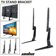 """Adjustable Tabletop TV Stand Mount for 23-55"""" LED LCD TV Monitors 88lbs Capacity"""