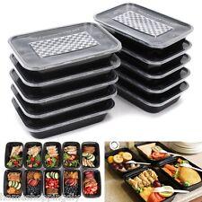 500ML Black Cute Crisper Lunch Box Plastic Food Container Disposable SP