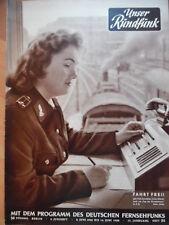 UNSER RUNDFUNK 24-1958 Programm: 8-14.6. Fahrdienstleiterin Kurt Forest FF DABEI