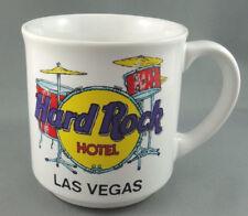Coffee Mug Hard Rock Hotel Vegas Drum Kit Logo Promo Save Planet 10oz Korea Vtg