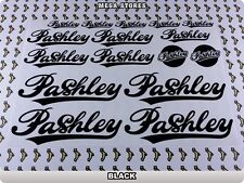 PASHLEY Stickers Decals Bicycles Bikes Cycles Frames Forks Mountain MTB BMX 63W