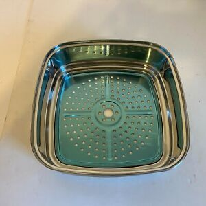"""Copper Chef 3"""" Square Extender Ring for the 11"""" Copper Chef Pan / Steamer - New"""