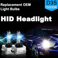 Hi-Lo Bi-Xenon 2X HID D3S Headlight Replacement for OSRAM Philips Bulb 15000K