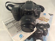 Minolta Maxxum 500si 35-70mm 1:3.5-4.5 SLR Camera with Manuals