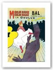 ART PRINT Moulin Rouge by Henri de Toulouse Lautrec