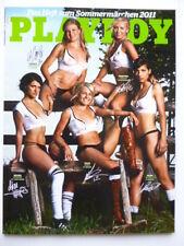 Playboy Magazin 2011/07, DEUTSCHE FUSSBALL NATIONALSPIELERINNEN