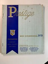 Vintage Catalogue - USA Prestige Christmas Wrapping Paper Catalogue 1970