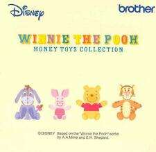 "Brother Embroidery Card PED, Winnie the Pooh ""Honey Toys Collection"" Brand New"