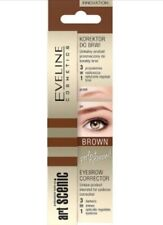 Eveline Art Scenic Eyebrow Corrector Brown 3in1 Professional Make Up 10ml