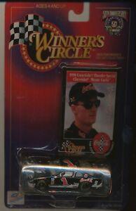 1998 HASBRO WINNER'S CIRCLE 50TH ANNIVERSARY #1 DALE EARNHARDT JR 1/64 CAR BLACK
