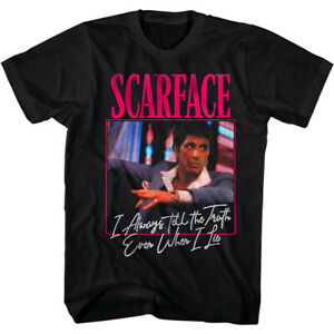 Scarface Tell The Truth Men's T-Shirt Even When I Lie Tony Montana Quote