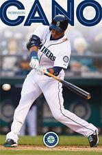 ROBINSON CANO - SEATTLE MARINERS POSTER - 22 x 34 MLB BASEBALL 13339