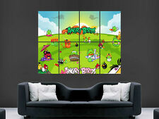 Angry Birds Giant Wall Poster Art Photo Imprimé Grand énorme