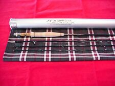C F Burkheimer 9ft Fly Rod 4 Piece #4 Line Classic GREAT NEW