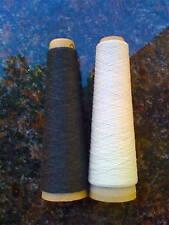 Habu Kit78 Kusha Felted Scarf Kit #3010DkCharcoal/White
