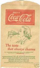 2 Alike Vintage Coca Cola No Drips Woman Drinking Coke Ephemera Dry Servers