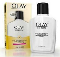 OLAY Complete All Day UV Moisturizer, SPF 15, Normal Skin 4 oz (Pack of 2)
