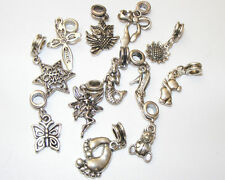 10 Mixed Design Dangle Charms (CH007) - FREE POSTAGE