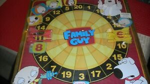 NEW Family Guy Magnetic Dart Board RARE! 2005 Factory Sealed