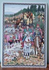 VILLEROY & BOCH Galerie Porcelain Art Plaque by Boris Zvorykin