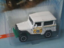 MATCHBOX TOYOTA LAND CRUISER 1968 JURASSIC WORLD GIOCATTOLO MODELLO AUTOMOBILE IN BP