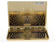 Stainless Steel GOLD Color, ID Case Holder Money, Cards, Cigarette for Unisex