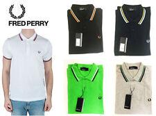 Fred Perry Kurzarm Herren-Freizeithemden & -Shirts aus Baumwolle