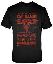 Van Halen Live Whiskey A Go-Go Hollywood Band T-Shirt - Men's 7Xl - New w/Tags!