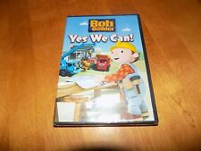 BOB THE BUILDER YES WE CAN!  BONUS 3 INTERACTIVE GAMES Animated Classic DVD NEW