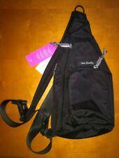 Vera Bradley Lighten up Mini Sling Backpack Belt Bag Classic Black S