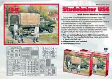 ICM 1/35 Studebaker US6 w/ Soviet Medical Personnel # 35513