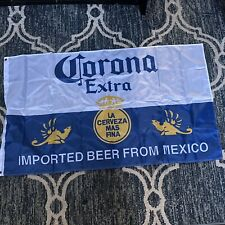 """Corona Beer Flag Banner 33"""" X 53"""" Great Condition"""