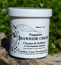 Ray Holes Vaquero Rawhide Cream - Cleaner Conditioner - 1 pint