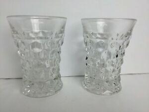 Vintage Fostoria American Juice Tumbler Glassware Glass Rare