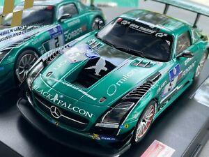 Carrera Digital 124 23876 20023876 Mercedes-Benz SLS AMG GT3 Black Falcon No.5