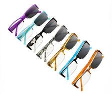 Transition Photochromic Half Rim Sun NearSighted Glasses Myopia -1.0 to -8.0
