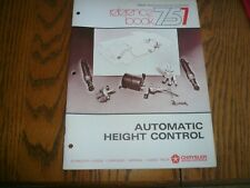 Chrysler Master Technicians Service Reference Book 757 Automatic Height Control