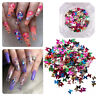 Art Nail Glitter Sequins Holographic Laser Nail Decoration 3D Butterfly Flakes
