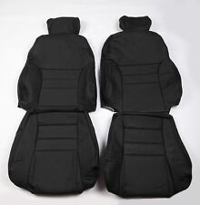 Custom Made Ford 96-98 SN-95 Modular SVT Mustang Cobra Real leather seat covers