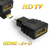 Adaptateur Convertisseur Cable HDMI femelle a micro HDMI - Type A vers Type D