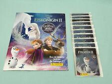 Panini Die Eiskönigin 2 Crystal Sticker Sammelalbum + 10 Tüten Disney Frozen