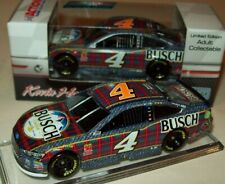Kevin Harvick 2018 Busch Beer Flannel #4 Ford Fusion 1/64 NASCAR Diecast New