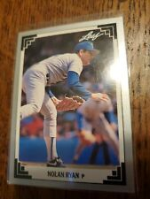 1991 Leaf NOLAN RYAN Baseball card #423 Texas Rangers NM EXCELLENT GRADE