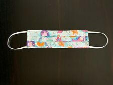 Mermaids Kids Face Cover, Mermaids Face Mask, Usa Made Child Mask with Nose Wire
