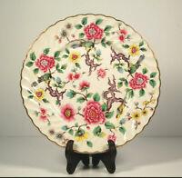 "Vintage James Kent Old Foley Chinese Rose Cake Plate 8.5""."